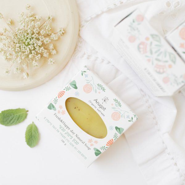 סבון טבעי מוצקים ונוזליים